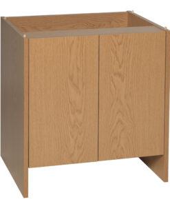"""Monkfield 24 x 18"""" Cabinet Oak"""