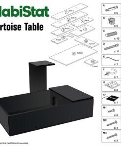 HabiStat Tortoise Table 43 x 24 x 9