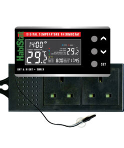 HabiStat Digital Temperature Thermostat, Day/Night